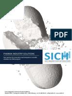 SICHH Pharma Brochure