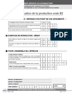 Criterios Evaluacion B2 Produccion Oral