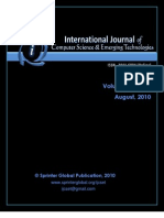 IJCSET Vol 1 Issue 2 August 2010
