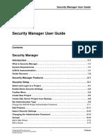Instrumentation SecurityManagerUserGuide