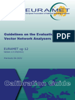 EURAMET Cg-12 v 2.0 Guidelines on Evaluation