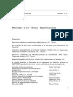 Nch0509-70 Pesticidas Ddt