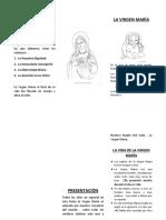 Los Dogmas Sobre La Virgen María