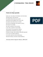 Poemas Secxx_tema Amizade