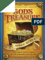 NIV God's Treasure Holy Bible Sampler