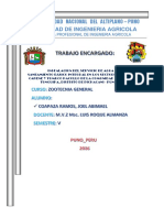 Perfil de Proyecto Hidroponia