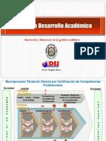 Mesas de Desarrollo Académico