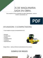 RIESGOS DE MAQUINARIA PESADA EN OBRA.pptx