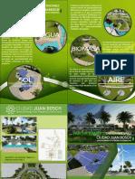 Brochure del Parque Temático de Energía Renovable de Ciudad Juan Bosch SDE