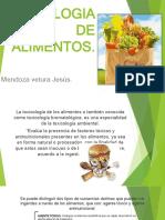 TOXICOLOGIA DE ALIMENTOS.