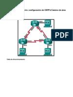 8.2.4.5 Lab - Configuring Basic Single-Area OSPFv2