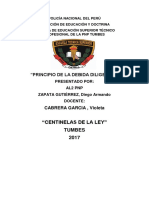 debida diligencia 2017