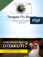 Cara Pencegahan Flu Burung