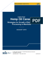 Hemp Oil Canada Case Study