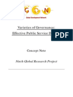 Governance Concept Note