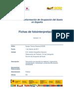 Fichas Fotointerpretacion SIOSE 2011