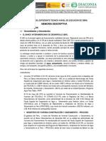 Memoria Descriptiva POLANCO - OK OK 01.11.13