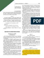 DL 457/99 que regula o uso de arma de fogo por parte de agentes policiais