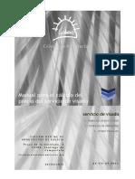 Manual Calculo Precio Servicio Visado