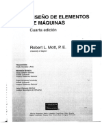 Diseño documento para ejes
