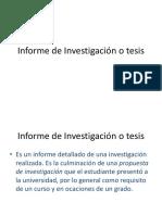 INFORME Investigación-tesis
