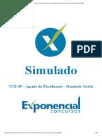 SIMULADO EXPONENCIAL CONCURSOS