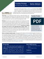 2018 HMDA Rules - Transition Provision