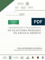 GRR Glaucoma Angulo Abierto