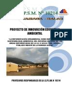 Proyecto Reforestación- La Ramada 2012