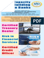 Capacity Building in Banks - IIBF Brochure