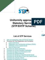 Standardized Stp Ehtp Services