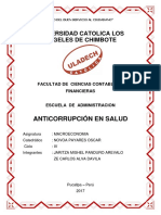 Anticorrupcion en Salud