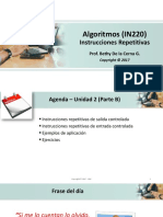 2017-1 Algoritmos Unidad 2- B