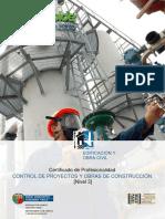 Control de Proyectos y Obras de Construcción
