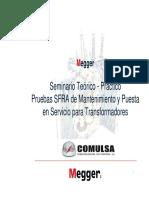 SFRA Teorico Practico Megger FRAX