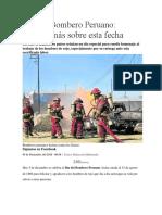 Día Del Bombero Peruano