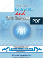 The People of Allah And Their Independency  By