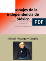 Personajes de la independencia de México.pptx