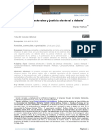 Dialnet-SistemasElectoralesYJusticiaElectoralADebate-5605177