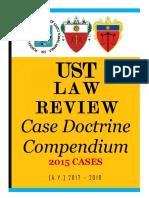 2015 Cases