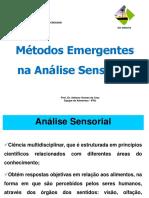 Métodos Emergentes de Análises Sensorial IFRJ