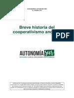 Breve Historia Del Cooperativismo Andaluz