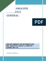 Programación Mat 2017 18