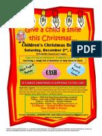 Orfordville Children's Christmas Benefit 2017poster