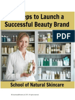 10 Steps to Launch Your Beauty Brand eBook 2017