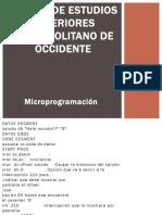 Microprogamacion