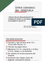 Orientaciones Metodológicas Para Tesis Del Convenio Cuba Venezuela