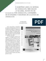 El Sistema Financiero Andaluz