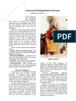 Spark Detection Extinguishing Systems Article