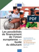 Les possibilités de financement de l'Union européenne.pdf